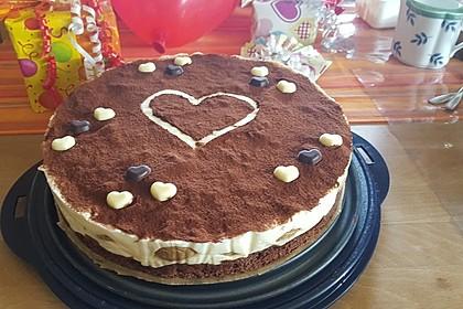 Manus leichte Tiramisu -Torte 12