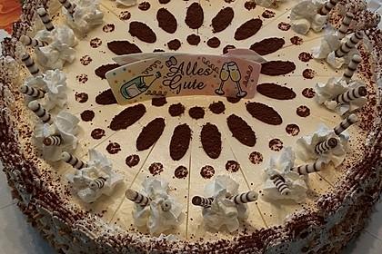 Manus leichte Tiramisu -Torte 8