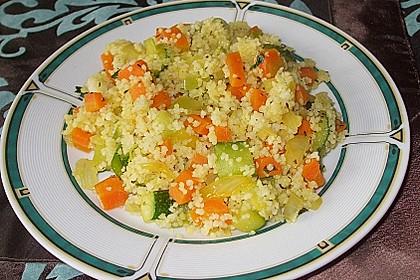 Gemüse Couscous 1