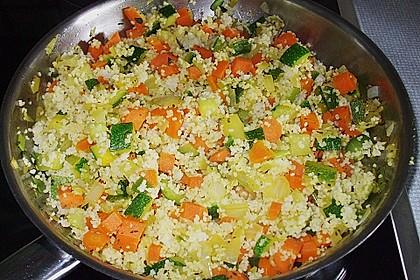 Gemüse Couscous 3