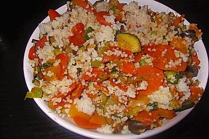 Gemüse Couscous 2