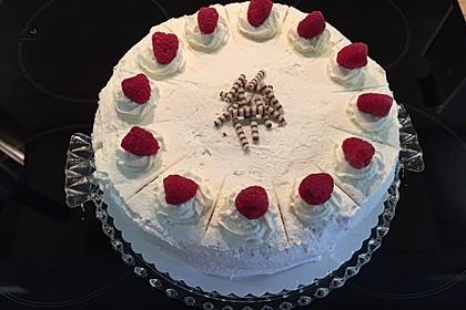 Himbeer - Smoothie - Torte mit Zitronencreme 7