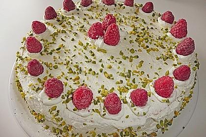 Himbeer - Smoothie - Torte mit Zitronencreme 1
