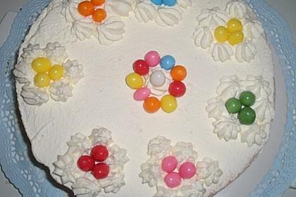 Himbeer - Smoothie - Torte mit Zitronencreme 6