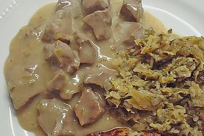 Rindfleischhaschee nach ostpreußischer Art süß-sauer 1