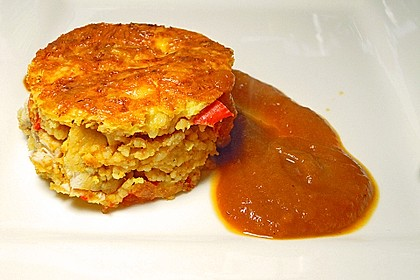 Kalorienarmer Couscous - Auflauf 1
