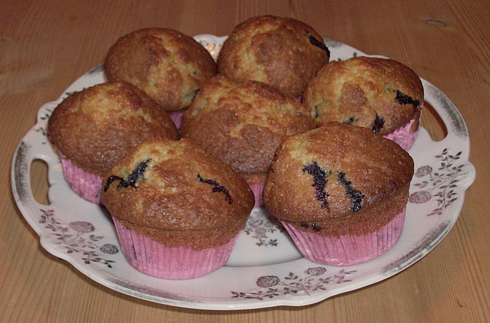 blaubeer muffins rezept mit bild von hawaiiigirl