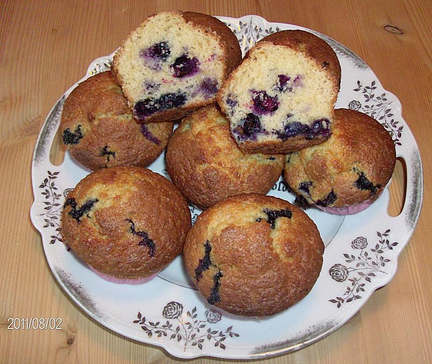 mais blaubeer muffins — rezepte suchen