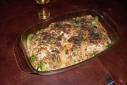 Lachsgratin mit Shrimps 14
