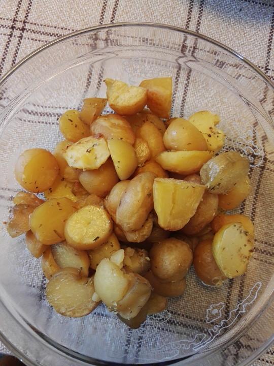 bratkartoffeln ohne fett rezept mit bild von vollwert drauf. Black Bedroom Furniture Sets. Home Design Ideas