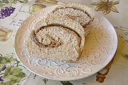 Erdnussbutter - Marmelade -  Brot 3