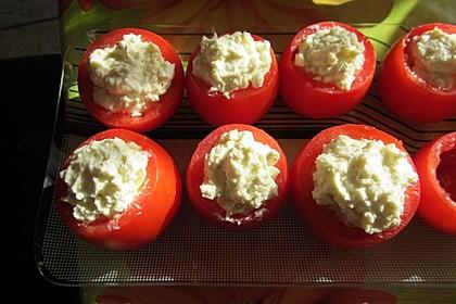 Gefüllte Tomaten mit Schafskäse - Creme 10
