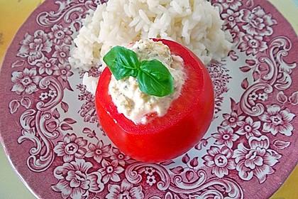Gefüllte Tomaten mit Schafskäse - Creme 13