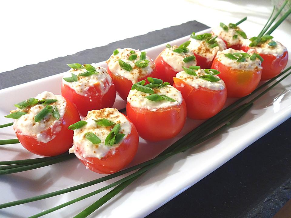 gef llte tomaten mit schafsk se creme rezept mit bild. Black Bedroom Furniture Sets. Home Design Ideas