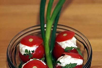 Gefüllte Tomaten mit Schafskäse - Creme 14