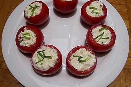 Gefüllte Tomaten mit Schafskäse - Creme 18