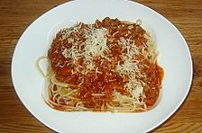 Niks Spaghetti Bolognese 'einfach' und 'spezial'