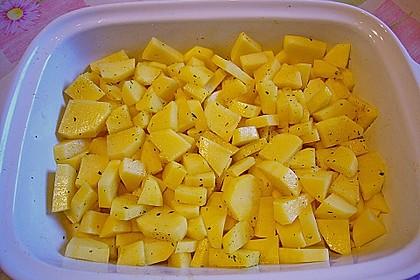 Salbei - Kartoffelgratin mit Parmesan 18