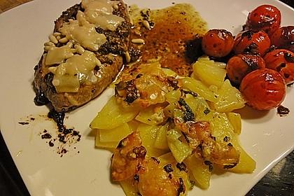 Salbei - Kartoffelgratin mit Parmesan 8