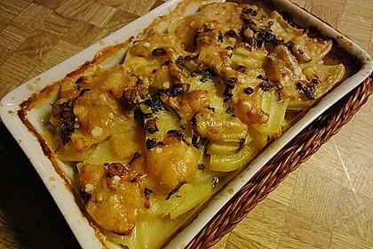 Salbei - Kartoffelgratin mit Parmesan 4
