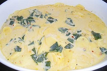 Salbei - Kartoffelgratin mit Parmesan 19