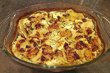 Salbei - Kartoffelgratin mit Parmesan 7