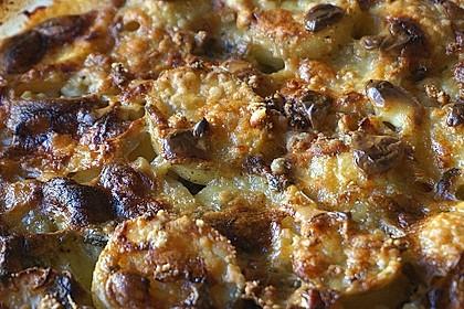 Salbei - Kartoffelgratin mit Parmesan 14