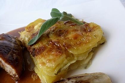 Salbei - Kartoffelgratin mit Parmesan 1