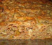 Lasagne mit Hackfleisch und Porree (Bild)