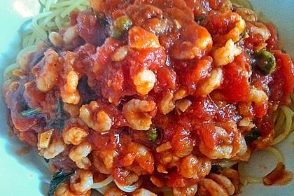 Garnelen in würziger Tomatensauce 2
