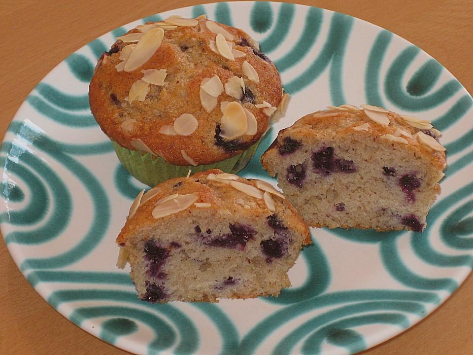heidelbeer mandel muffins rezept mit bild von rocky73. Black Bedroom Furniture Sets. Home Design Ideas