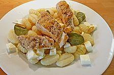 Hähnchenbrust mit Salbei und Gnocchi