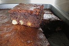Schokolade - Nuss - Brownie