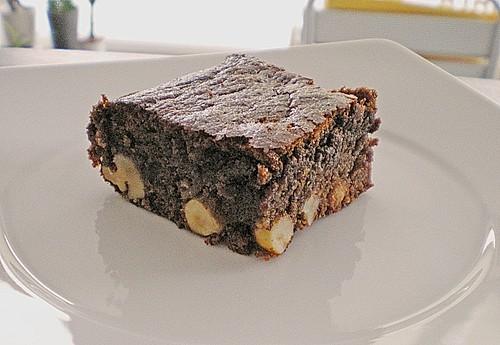 schokolade nuss brownie rezept mit bild von sistafunk. Black Bedroom Furniture Sets. Home Design Ideas