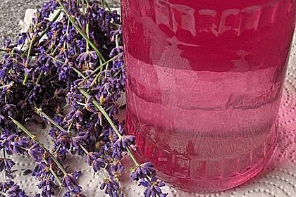Lavendelsirup 2