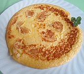 Pfannkuchen 'Helene' mit Joghurtcreme (Bild)