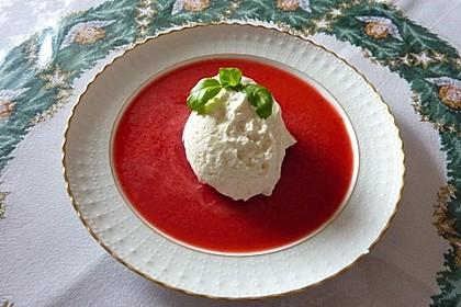 Joghurtmousse mit Erdbeeren 1