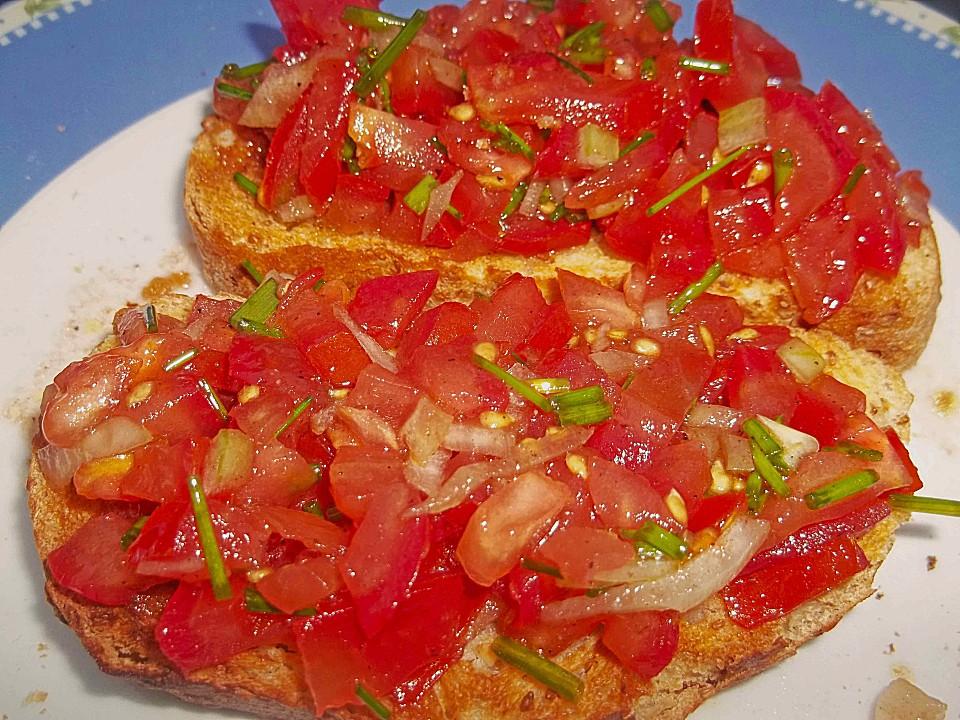 Bruschetta (Rezept mit Bild) von MagnoliaCupcake | Chefkoch.de
