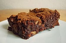 Toblerone - Sultaninen Brownies
