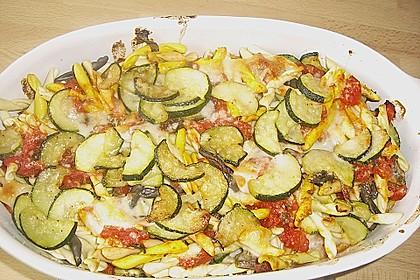 Penne mit Zucchini 2