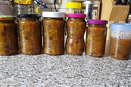 Chutney mit grünen Tomaten von Rosinenkind 4