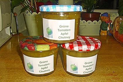 Chutney mit grünen Tomaten von Rosinenkind 7