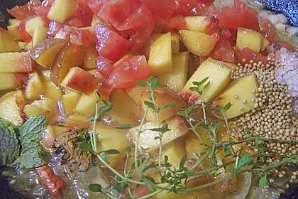 Pfirsich - Tomaten - Chutney 2