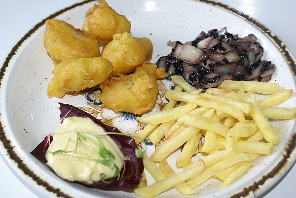 Fish and chips rezept mit bild von commandtb for Wave fish and chips