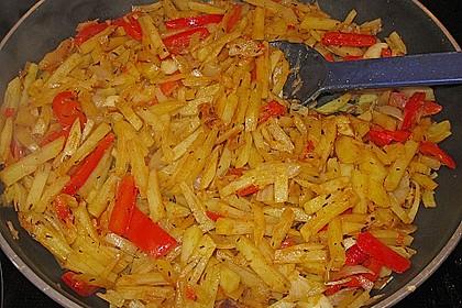 Kartoffel - Paprika - Pfanne