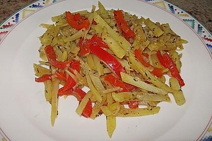 Kartoffel - Paprika - Pfanne 2