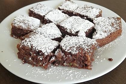 Sagenhafte Brownies mit Zucchini 16