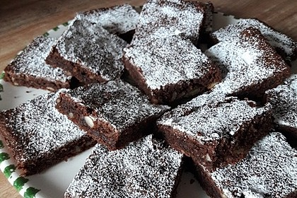 Sagenhafte Brownies mit Zucchini 9