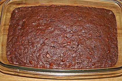 Sagenhafte Brownies mit Zucchini 18