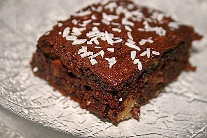 Sagenhafte Brownies mit Zucchini 1